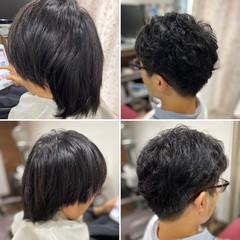 ウルフカット メンズショート メンズカット ストリート ヘアスタイルや髪型の写真・画像