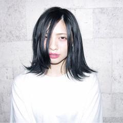 色気 暗髪 ストリート アッシュ ヘアスタイルや髪型の写真・画像