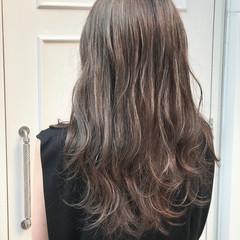 デート ハイライト フェミニン 夏 ヘアスタイルや髪型の写真・画像