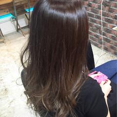 グラデーションカラー ロング ストリート ダブルカラー ヘアスタイルや髪型の写真・画像