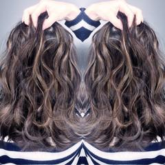 ハイライト エレガント ニュアンス グラデーションカラー ヘアスタイルや髪型の写真・画像