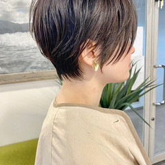 ショートヘア ショート ナチュラル ショートボブ ヘアスタイルや髪型の写真・画像