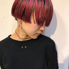 アウトドア ヘアアレンジ ショート アンニュイほつれヘア ヘアスタイルや髪型の写真・画像