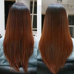髪質改善トリートメント 艶髪 ナチュラル ロング ヘアスタイルや髪型の写真・画像