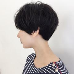 刈り上げ ベリーショート ナチュラル 色気 ヘアスタイルや髪型の写真・画像