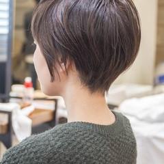 ショートボブ 大人かわいい ショートヘア ショート ヘアスタイルや髪型の写真・画像