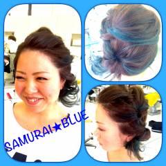 丸顔 渋谷系 ヘアアレンジ ストリート ヘアスタイルや髪型の写真・画像