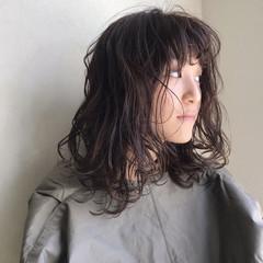 ナチュラル ゆるふわ 透明感 パーマ ヘアスタイルや髪型の写真・画像