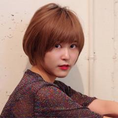 アウトドア ショート ナチュラル ヘアアレンジ ヘアスタイルや髪型の写真・画像