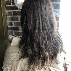 アディクシーカラー ナチュラル ブリーチカラー セミロング ヘアスタイルや髪型の写真・画像