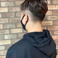 メンズショート ナチュラル ツーブロック メンズ ヘアスタイルや髪型の写真・画像