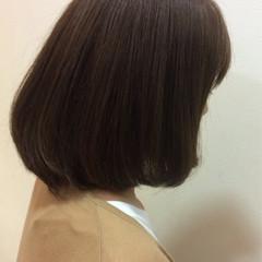 ナチュラル ボブ 色気 イルミナカラー ヘアスタイルや髪型の写真・画像