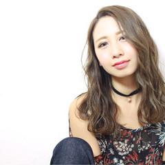 ハイライト パーマ ニュアンス 大人かわいい ヘアスタイルや髪型の写真・画像