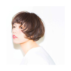 ピュア ボブ モード 色気 ヘアスタイルや髪型の写真・画像
