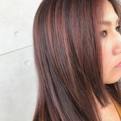外国人風 ハイライト アッシュ イルミナカラー ヘアスタイルや髪型の写真・画像