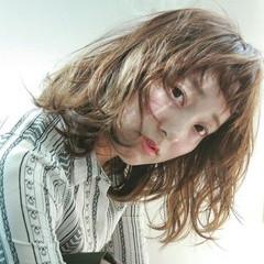 ボブ ミルクティー 外国人風 ニュアンス ヘアスタイルや髪型の写真・画像