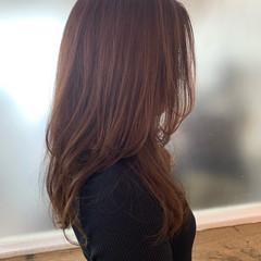 ナチュラル レイヤーカット レイヤースタイル ロング ヘアスタイルや髪型の写真・画像