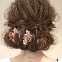 ロング アップスタイル 結婚式 ストリート ヘアスタイルや髪型の写真・画像