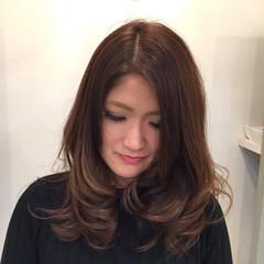 ローライト グラデーションカラー ハイライト ストリート ヘアスタイルや髪型の写真・画像