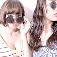 秋 ガーリー ストレート ロング ヘアスタイルや髪型の写真・画像