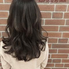 ナチュラル 外国人風 暗髪 冬 ヘアスタイルや髪型の写真・画像