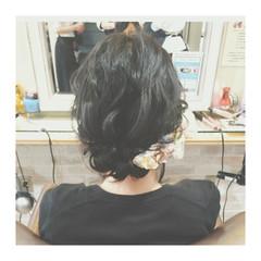 ハイライト ショート ボブ ヘアアレンジ ヘアスタイルや髪型の写真・画像