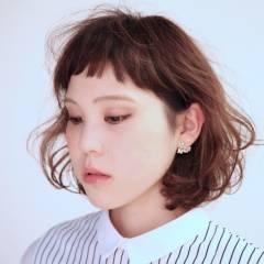 ナチュラル ウェーブ モード 秋 ヘアスタイルや髪型の写真・画像