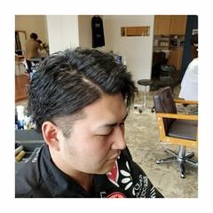 メンズカット メンズパーマ メンズヘア ナチュラル ヘアスタイルや髪型の写真・画像