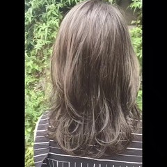 ゆるふわ 女子力 ナチュラル ロング ヘアスタイルや髪型の写真・画像