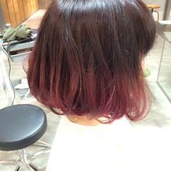ハイトーン グラデーションカラー 外国人風 大人かわいい ヘアスタイルや髪型の写真・画像