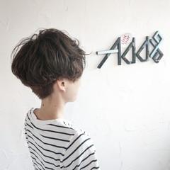 ショート マッシュ ツーブロック ショートヘア ヘアスタイルや髪型の写真・画像