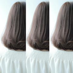 ストリート ロブ ミディアム 外国人風 ヘアスタイルや髪型の写真・画像