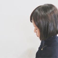 ボブ ナチュラル 色気 大人女子 ヘアスタイルや髪型の写真・画像