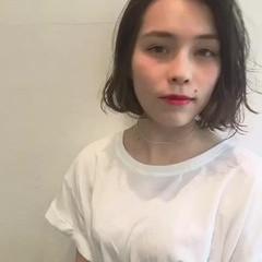 アンニュイ 色気 ショート パーマ ヘアスタイルや髪型の写真・画像