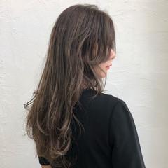 ハイライト コントラストハイライト ガーリー ロング ヘアスタイルや髪型の写真・画像