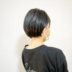 ショートボブ ハンサムショート ボブ ミニボブ ヘアスタイルや髪型の写真・画像