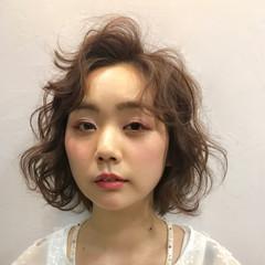 ピンク 大人かわいい ふわふわ ガーリー ヘアスタイルや髪型の写真・画像