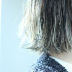 ハイライト ストリート 外国人風 ボブ ヘアスタイルや髪型の写真・画像
