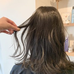 イルミナカラー ゆるナチュラル ナチュラル 透明感カラー ヘアスタイルや髪型の写真・画像
