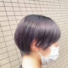 丸みショート ハンサムショート ナチュラル ショートヘア ヘアスタイルや髪型の写真・画像