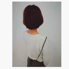 ショート ハイライト ローライト オフィス ヘアスタイルや髪型の写真・画像