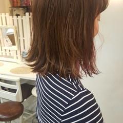 インナーカラー ダブルカラー ナチュラル セミロング ヘアスタイルや髪型の写真・画像