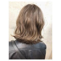 女子力 ブリーチ 透明感 グラデーションカラー ヘアスタイルや髪型の写真・画像