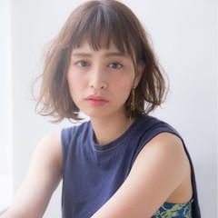 女子会 アッシュ アンニュイ ナチュラル ヘアスタイルや髪型の写真・画像