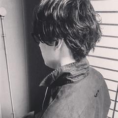 メンズ モテ髪 黒髪 ショート ヘアスタイルや髪型の写真・画像