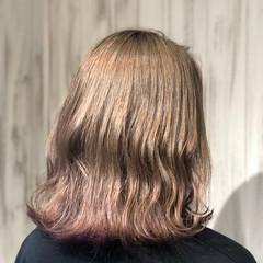 ストリート ブリーチカラー ダブルカラー ボブ ヘアスタイルや髪型の写真・画像