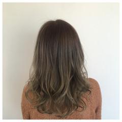 ロング ハイライト 春 夏 ヘアスタイルや髪型の写真・画像