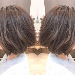 春 ボブ 透明感 モード ヘアスタイルや髪型の写真・画像