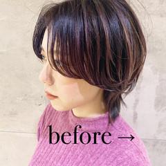ショートヘア ショートボブ モード 大人ショート ヘアスタイルや髪型の写真・画像