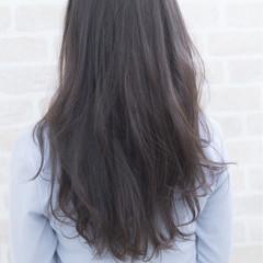 女子会 デート ロング ナチュラル ヘアスタイルや髪型の写真・画像